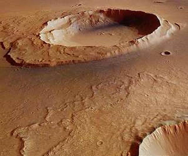 """""""火星快车""""探测到火星远古洪流的残留证据"""