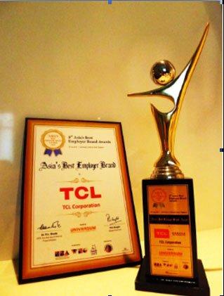 TCL集团荣获亚洲最佳雇主品牌奖