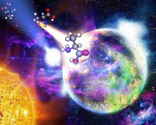 科学家解析地球上生命分子的手性起源