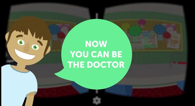 """如果你从小就想当医生 这款VR应用能让你直接给病人""""诊断"""""""