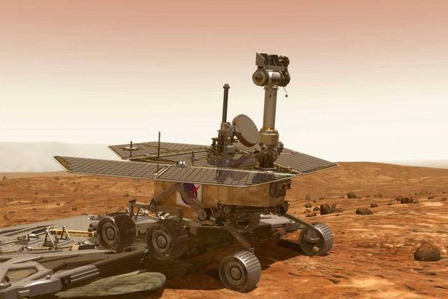 """美国""""机遇""""号火星车进入第七个火星冬季"""