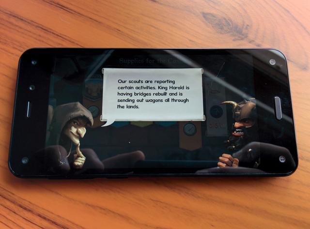 亚马逊手机动态视角3D游戏体验糟糕被指廉价