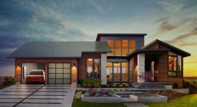 马斯克想用太阳能屋顶为千家万户供电