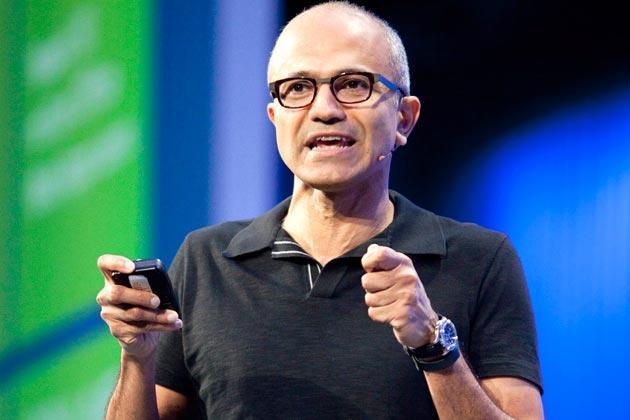 纳德拉出任微软CEO十大理由:对业务了如指掌