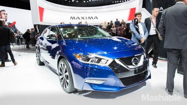 纽约汽车展上的尖端汽车科技