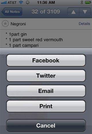Evernote让用户在Facebook及Twitter共享笔记