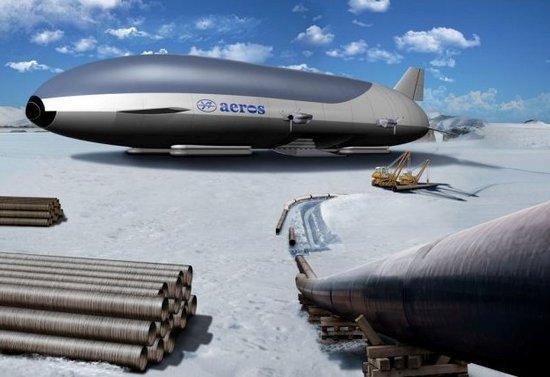 """超级飞艇将""""复活"""":或彻底改变航运格局"""