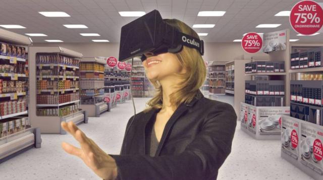 玩游戏or看电影?原来购物才是VR要解决的生活痛点