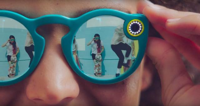 "Snapchat更名为""Snap"" 推出129美元新智能眼镜"