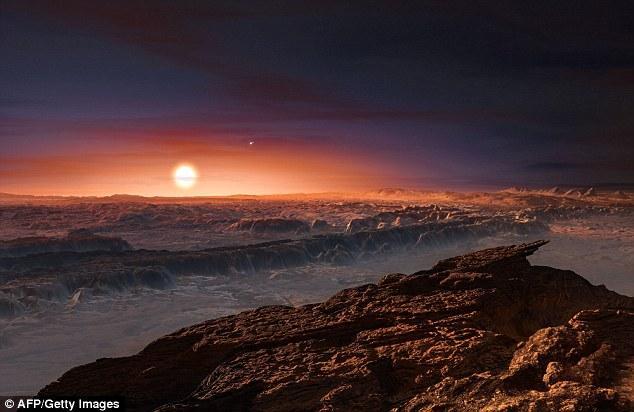 """科学家试图抵达""""地球2.0""""行星"""