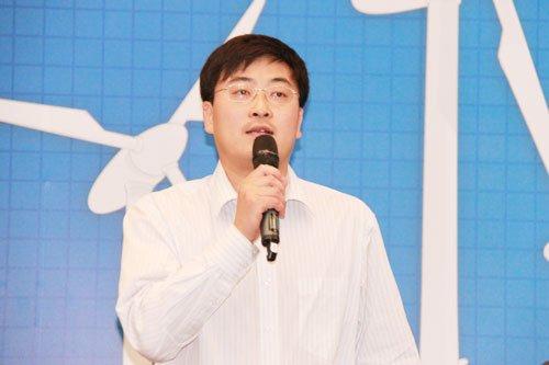 图文:腾讯搜索应用部副总经理李盛韬演讲
