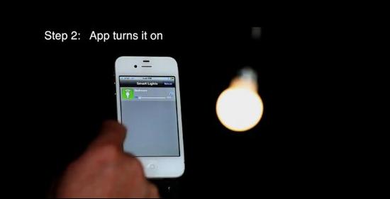 智能灯泡:可用智能手机控制开关