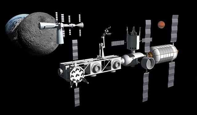 """想去火星?先把月球改造成""""加油站"""""""