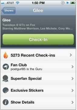 GetGlue集成Foursquare 增体育赛事签到类别