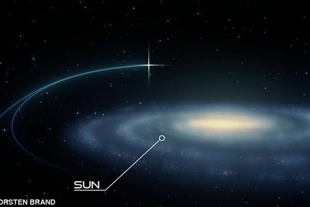 科学家发现一些超高速恒星正逃离银河系边缘