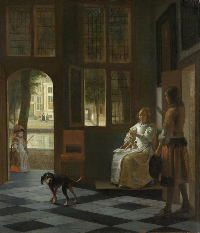 库克说:这幅1670年的画里有iPhone