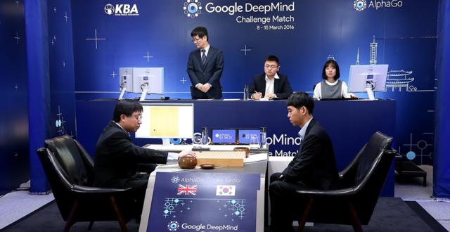 AlphaGo赢!世界围棋冠军李世石首场认输