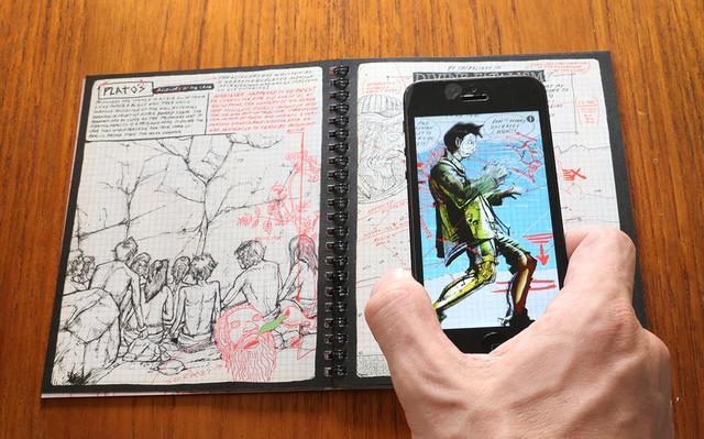 第一眼看可能觉得它是垃圾漫画书 但它竟然有这么多黑科技