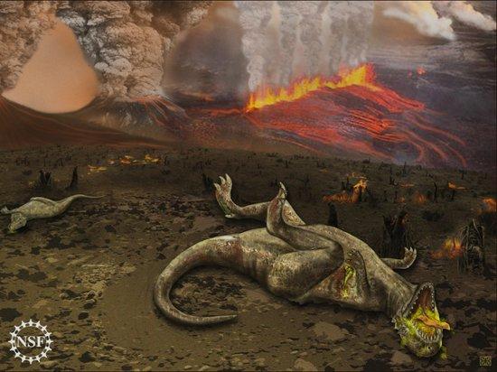 最新证据显示恐龙灭绝是由印度火山喷发所致