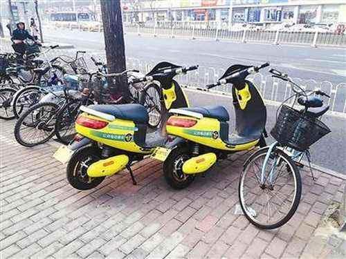 交管部门称共享电动单车不合法