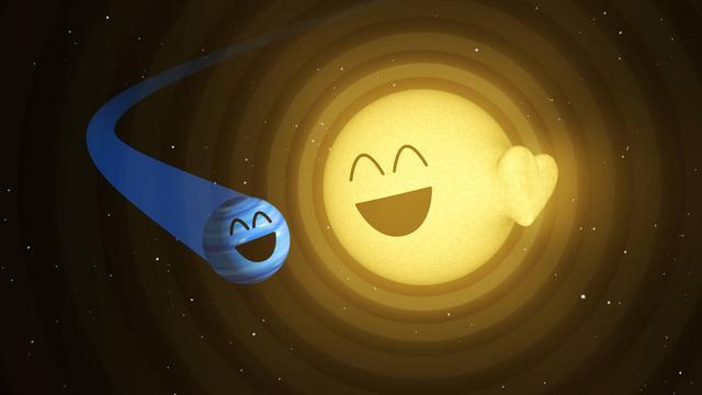 """太空望远镜观测到恒星不寻常的""""脉动"""""""