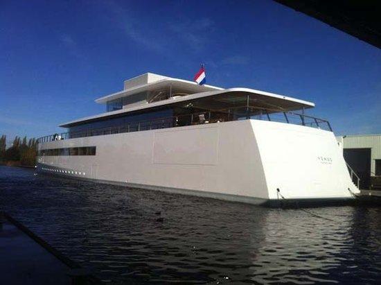 乔布斯私人游艇Venus首次亮相:配备7台iMac