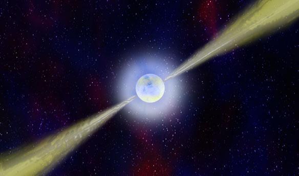 天文学家发现银河系外首颗脉冲星
