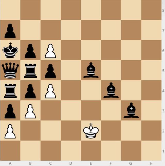 这个棋局人工智能无能为力 相信你能行