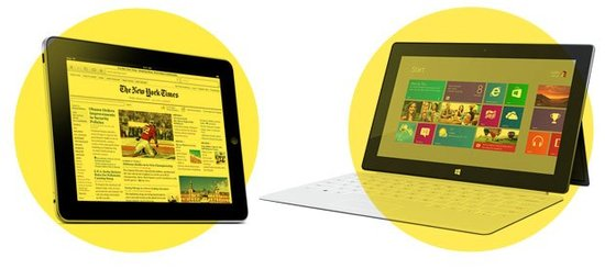 Surface毛利润超iPad 消费者购买意愿跌半