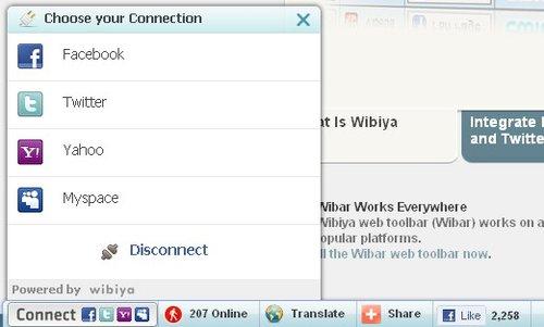 Wibiya一年内用户达1.5亿 已超越Meebo