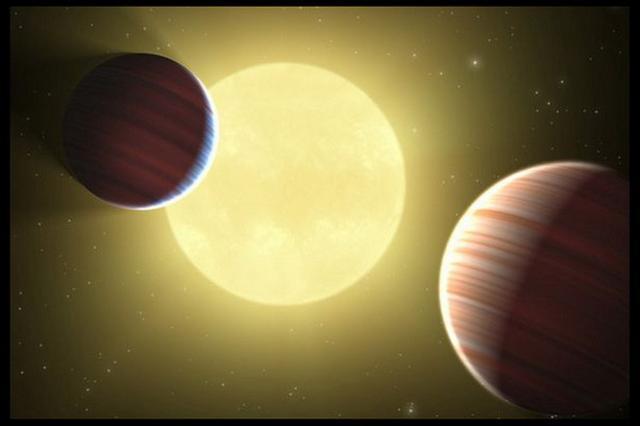 两颗近距宜居行星环绕相同恒星可能存在生命