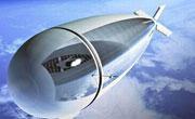 组图:新型无人空中飞船可在同温层高度监控地表
