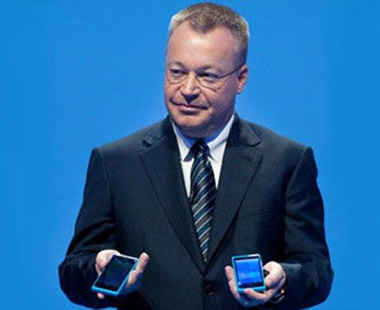 诺基亚CEO:WP手机销售不佳 责任在零售商