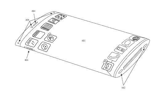 """专利文件显示iPhone或将采用""""环绕式显示屏"""""""