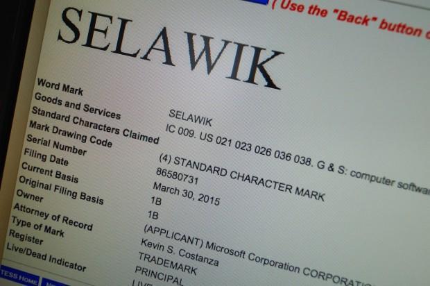 微软抢注商标 Spartan浏览器正式名字疑为Selawik
