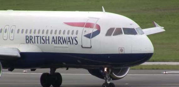 这下惨了!一架无人机真把英国民航客机给撞了