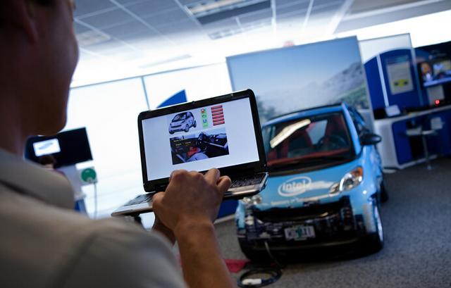 英特尔也在研究无人驾驶汽车 欲搭载自家处理器