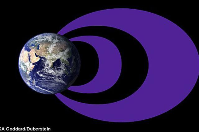 美国宇航局绘制地球外层磁场图 酷似甜甜圈