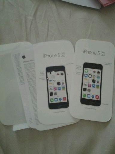 iPhone 5C说明书及包装曝光 传行货同步开卖