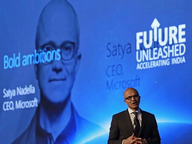 微软CEO纳德拉:微软决不放弃手机业务