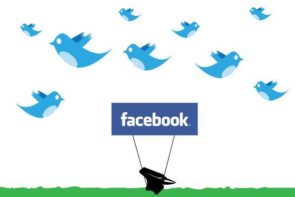 Twitter与Facebook争相入华?道阻且长