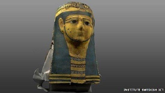 博物馆建木乃伊数字模型让游客体验考古乐趣