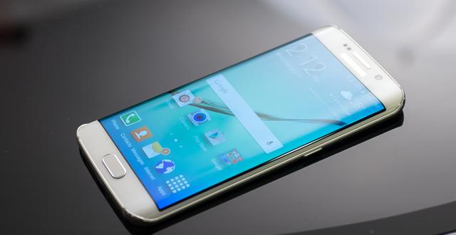 雙曲面屏真帥!Galaxy S6 Edge上手試玩