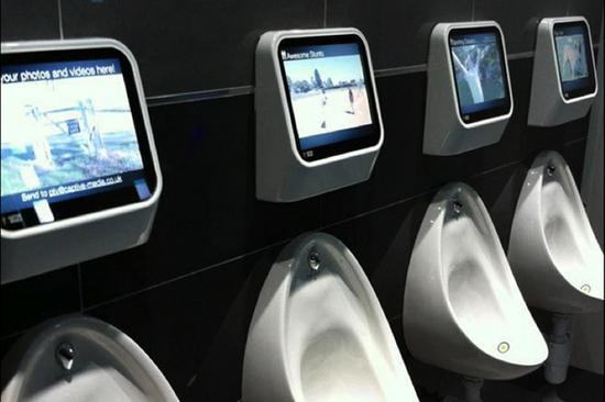 小便控制的游戏机或将遍布全球公共洗手间