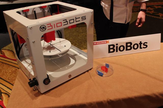 这家公司用3D打印技术打印人体器官
