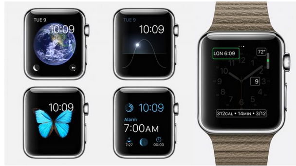 Apple Watch有多个性?9个默认表盘 34种设计 百万个性化设置_硬件消息_原创频道_当乐网
