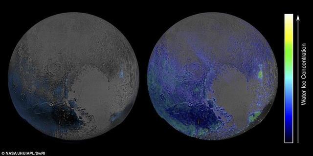 冥王星存在大量水冰物质远超出之前的预想