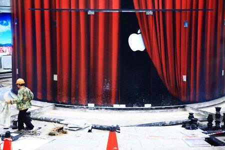 上海首家苹果零售店7月10日将亮相陆家嘴(图)