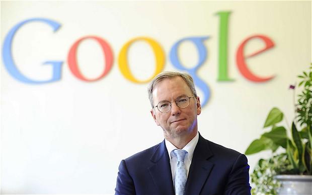 第58届戛纳年度媒体人物:谷歌董事长Schmidt