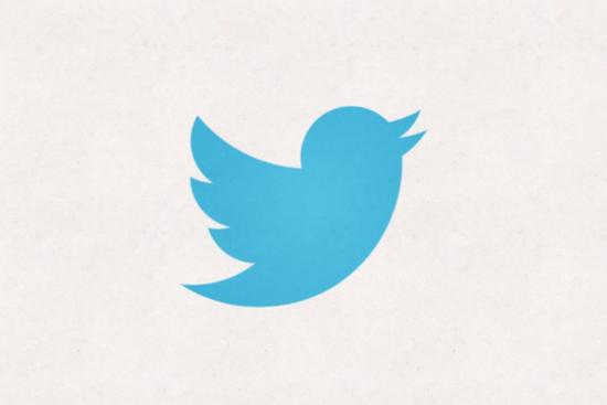 Twitter推出新品牌标识 简化为无字蓝鸟(图)
